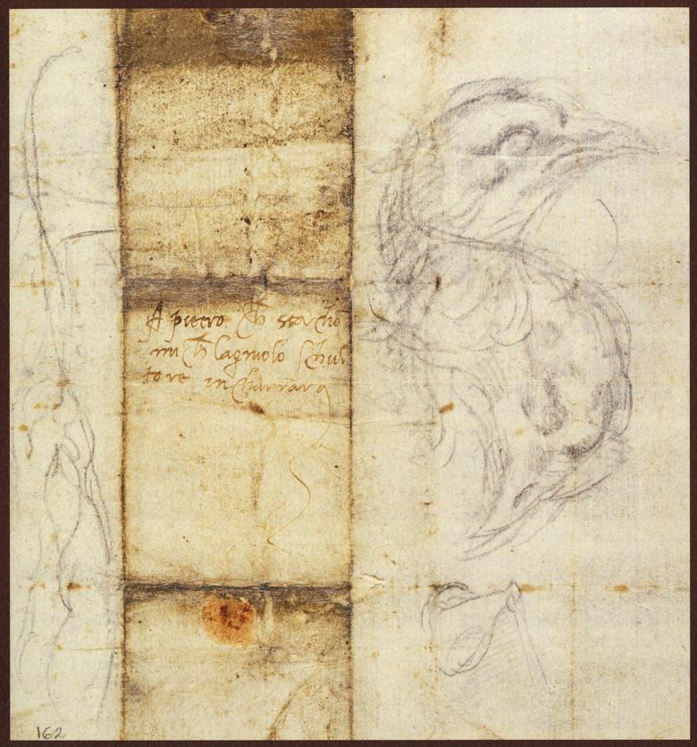 Lettera di Michelangelo Buonarroti a Pietro Urbano, 20 agosto 1519 recto