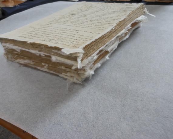 amici della bertoliana restauri manoscritti